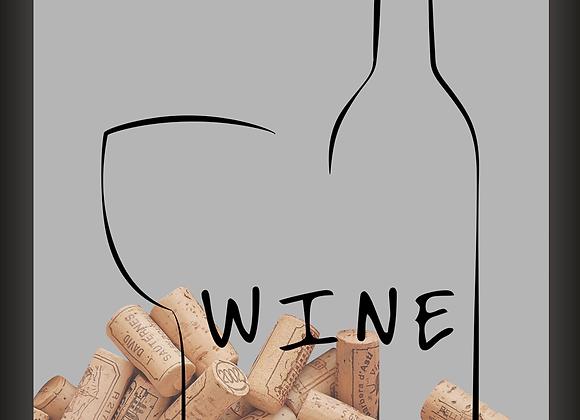 Quadro Rolha - Wine