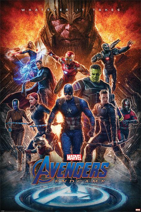Poster G - Os Vingadores Wathever
