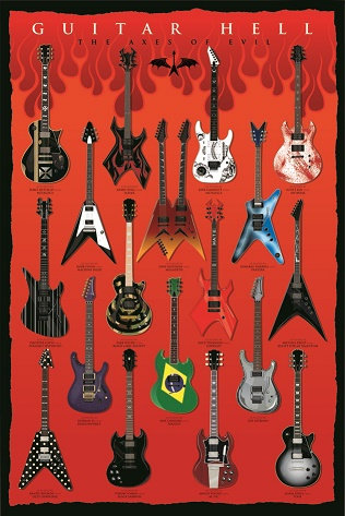 POSTER M PY PP 32523 GUITAR HELL