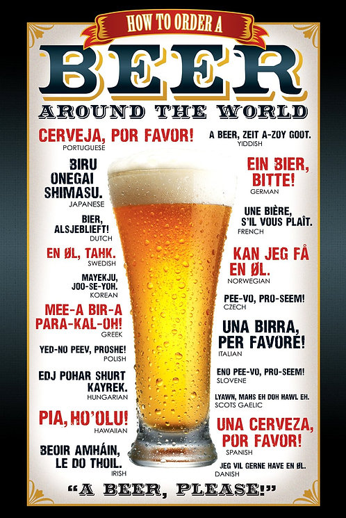 POSTER M GB GN 0543 BEER