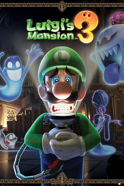Pôster G - Luigi's Mansion 3
