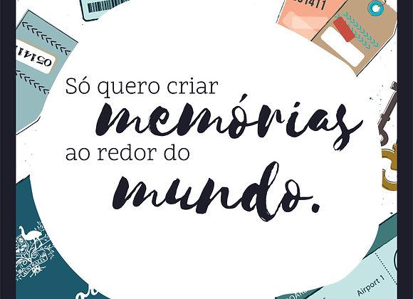 Quadro Decor -Viagem Memorias