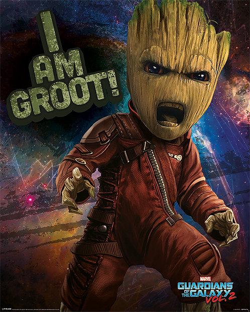 Pôster M - Guardiões da Galáxias | Groot