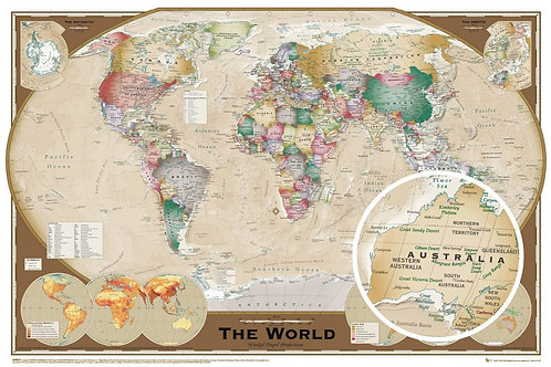 MAPA IMÃ PT GN 0532 WORLD MAP