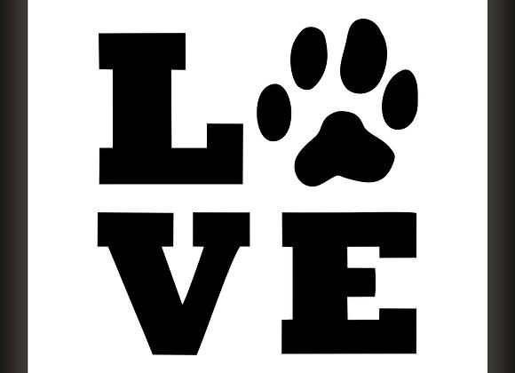 Quadro Decor - Love Pet