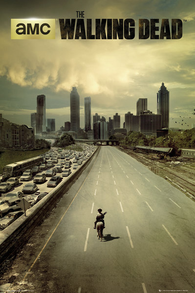 POSTER GB FP 3081 THE WALKING DEAD CITY