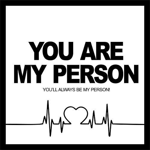 Quadro D - Grey's | You are