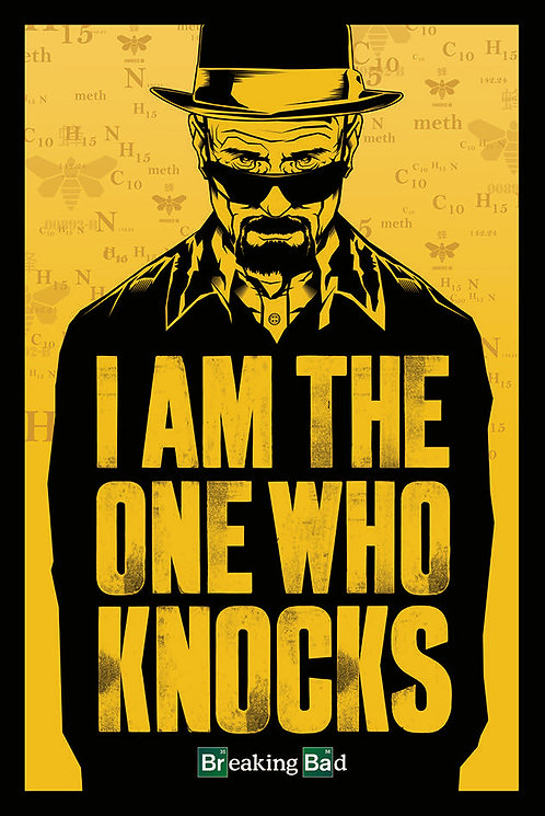 POSTER M PY PP 33183 BREAKING BAD THE ONE WHO KNOCKS