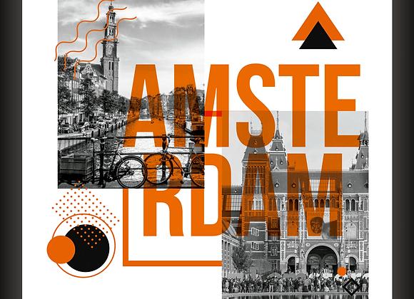 Quadro Decorativo - Visual Amsterdam