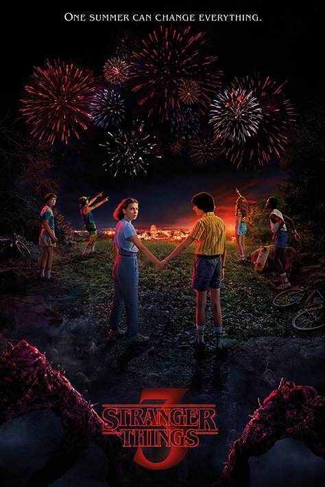 Pôster G - Stranger Things | Season 3