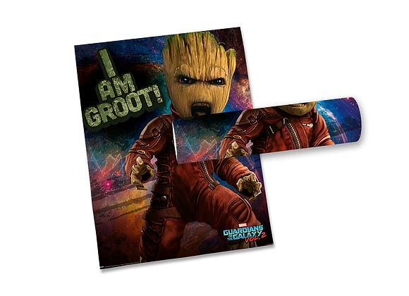 Pôster M - Guardiões Galáxia | Groot