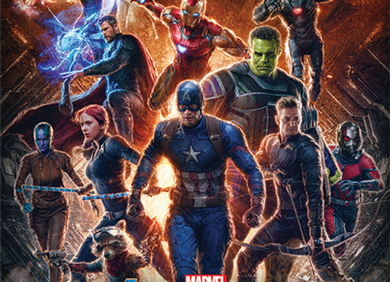 Poster Os Vingadores Ultimato