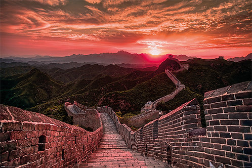 POSTER M PY PP 34371 GREAT WALL OF CHINA