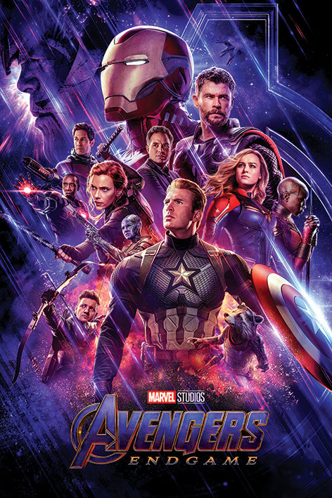 POSTER M PY PP 34507 AVENGERS END GAME JOURNEYS