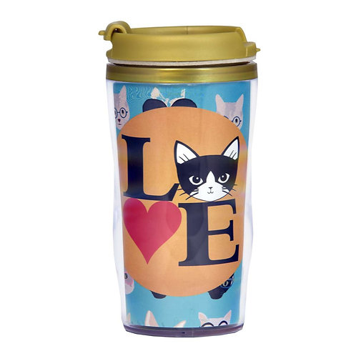 Copo Térmico 500ml - Love Cat