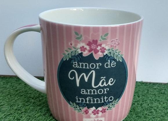 Caneca Dec Amor Mãe 360ML