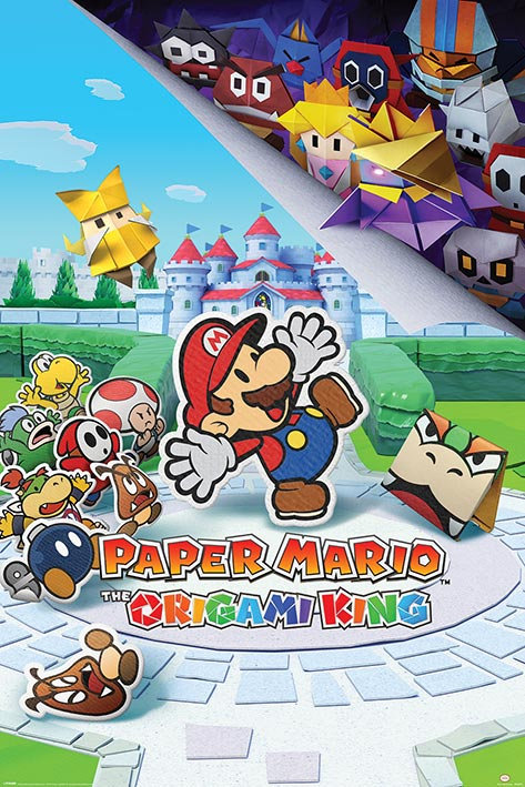 Pôster G - Paper Mario