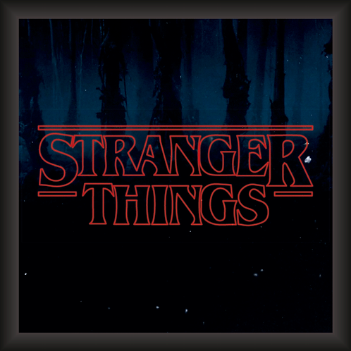 Quadro Decorativo - Stranger Things