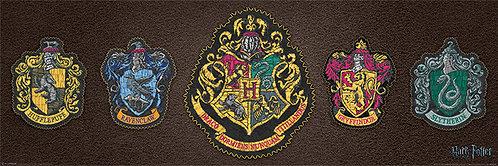 Pôster H - Harry Potter | Brasão