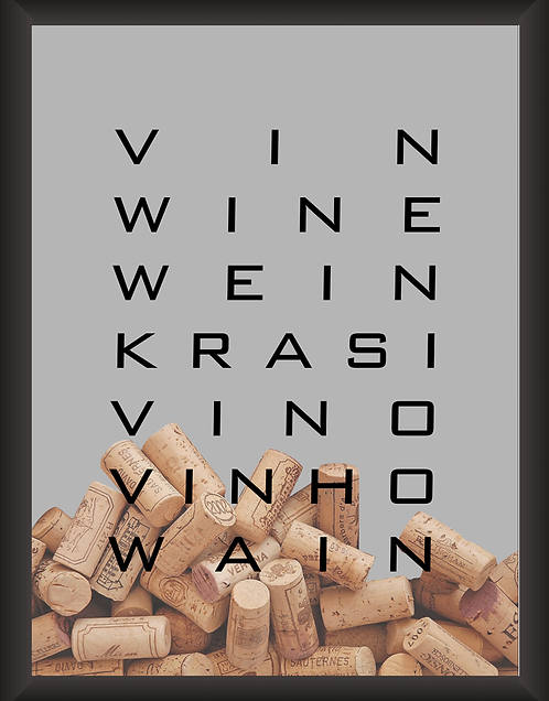 Quadro Rolha - Win Wine