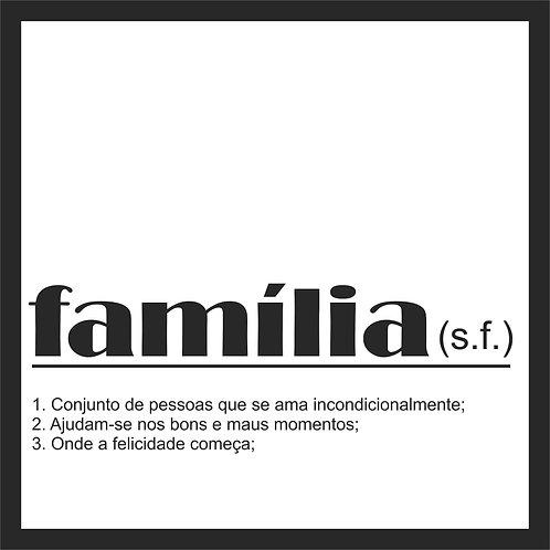 Quadro D - Família