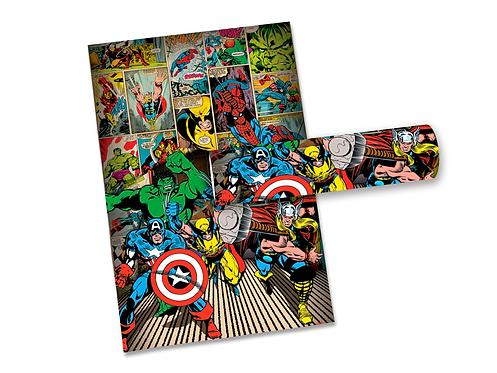 Pôster Heróis da Marvel - Quadrinhos