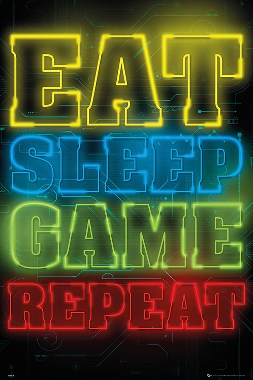 POSTER GB GN 0878 GAMING EAT