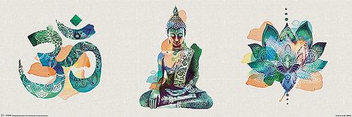 Pôster H - Zen | Yoga