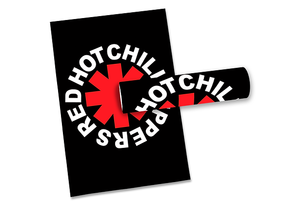 Pôster G - Red Hot Chili Peppers | Logo