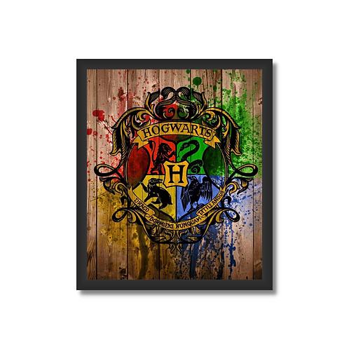 Quadro Decorativo HP520 - Hogwarts