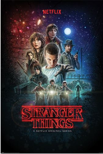 POSTER M PY PP 34404 STRANGER THINGS ONE