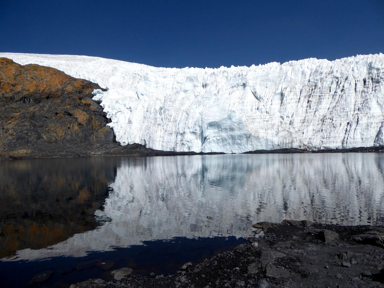 Andes glaciar