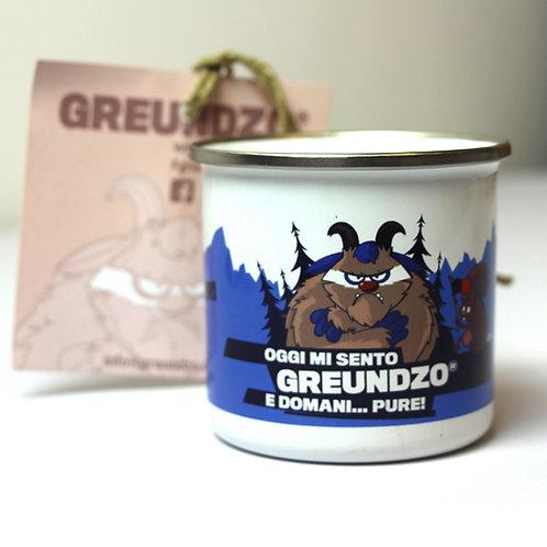 TAZZA METALLO GREUNDZA CON MANICO