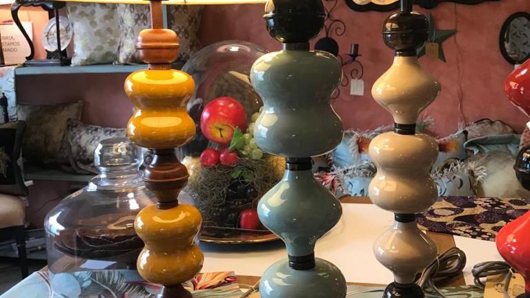 Lámparas Combinadas de Cerámica