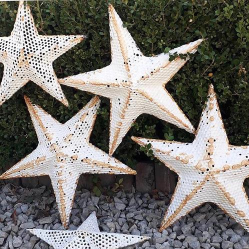 Estrellas de alambre y Papier-Mâché