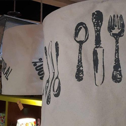 Colgantes de Lona Cocina