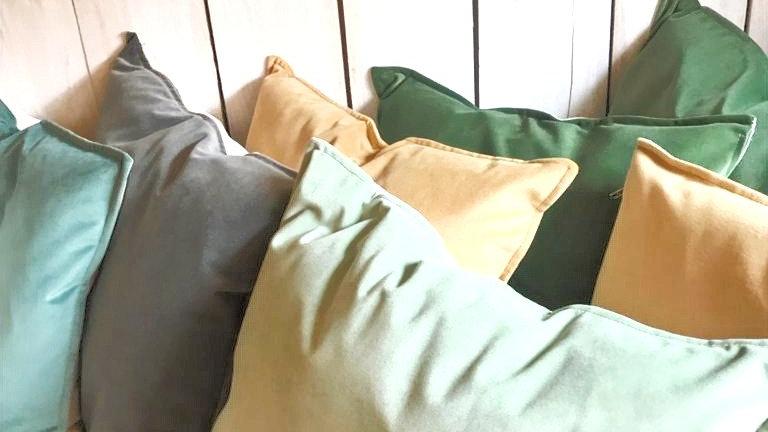 Almohadones de Terciopelo