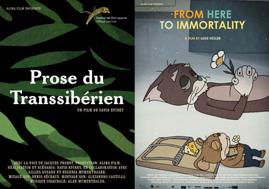 PROJECTIONS DE PROSE DU TRANSSIBÉRIEN ET FROM HERE TO IMMORTALITY AU FESTIVAL INTERNATIONAL DE COURT
