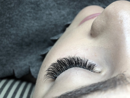 Eyelashes Extension Allungamento ciglia 3d, volume 1:1
