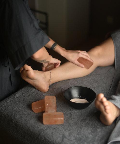 Salt Massage Ritual