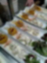 Proposition de menu de groupe aux restaurant les caudalies Questembert