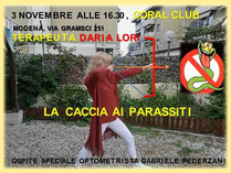 Daria Lori, naše kolegyně z Modeny (Itálie)