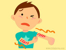 Atopický ekzém u šestiletého chlapce