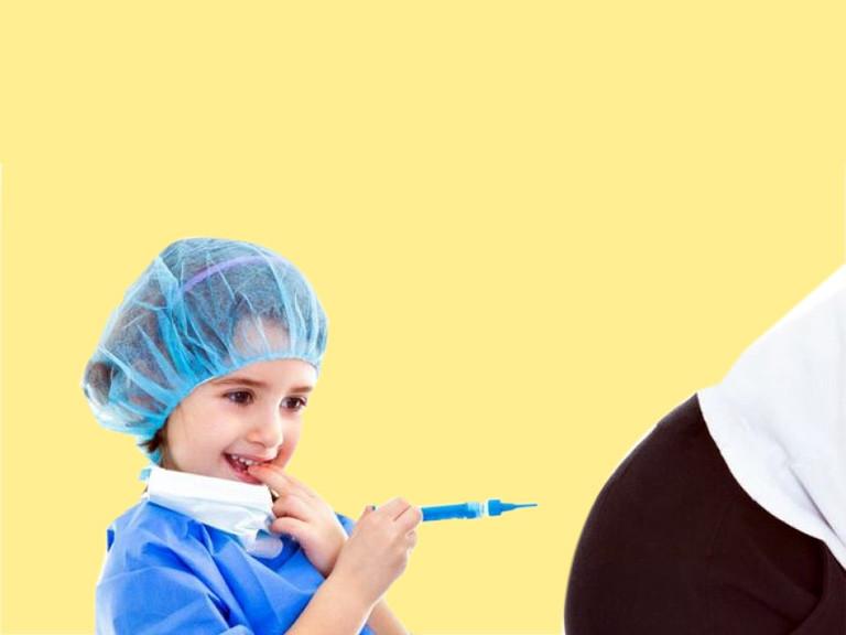očkování dětí ..