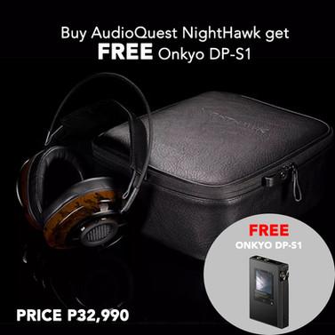 AQ Nighthawk and Onkyo DP-S1