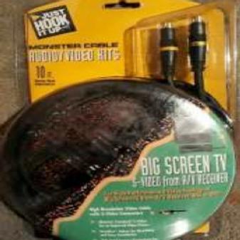 Monster Cable J2BSTV SVS-10 (big screen)