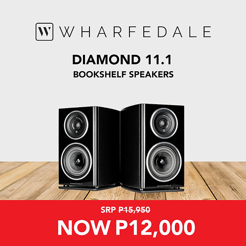 Diamond 11.1 Bookshelf Speakers