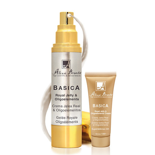 BASICA Royal Jelly and Oligoelements Cream (50ml) + GIFT (20ml)