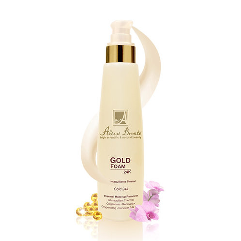 GOLD FOAM Thermal Make-up Remover (200ml)