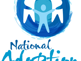 National Adoption Month logo: Take it, share it, use it.
